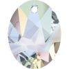 Swarovski Pendant 6911 Kaputt Oval 36mm Aurora Borealis Crystal
